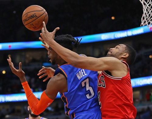 Chicago Bulls put up a fantastic show at the United Center as they beat Oklahoma City Thunder in a nail-biting contest