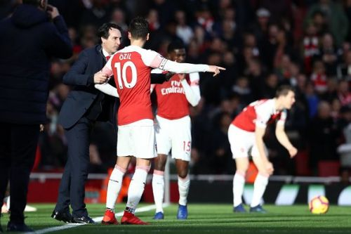Unai Emery and his men