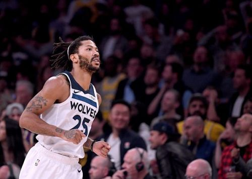 Derrick Rose has returned to form this season Minnesota Timberwolves