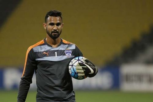 The Mumbai City FC keeper has been in excellent form for his club, but will again have to wait behind Gurpreet for his chances
