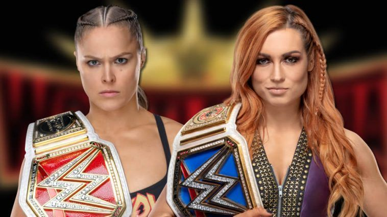 What could be more satisfying than seeing Becky Lynch vs Ronda Rousey in the main event of Wrestlemania 35?