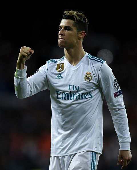 Ronaldo got the goal which sent Real into the semi-final of the Champions League