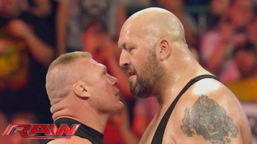 The Big Show has been putting over younger stars for much of his recent career, including Brock.