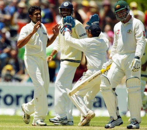 2nd Test Australia v India Day Two
