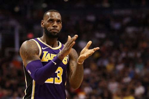 LeBron shoots 73 percent  from the foul line in his career