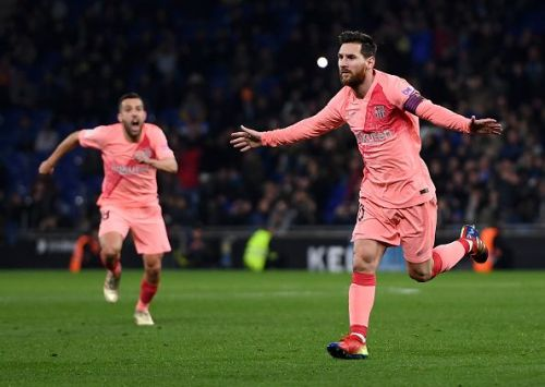 Lionel Messi has scored nine direct free kicks in La Liga this season