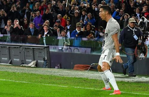 Ronaldo revealed that some Roma players resorted to threatening him on the pitch in a bid to stop him from worsening the scoreline.