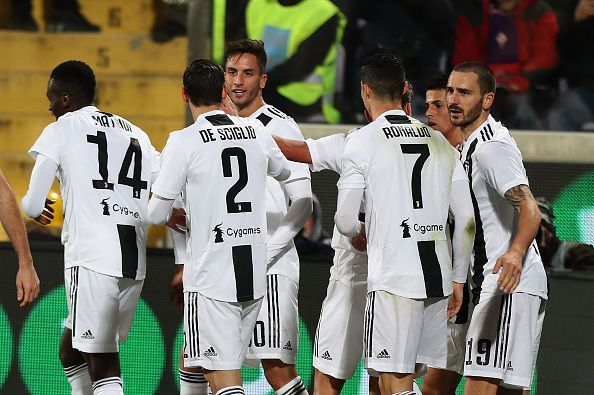 Juventus are rollicking in the Serie A