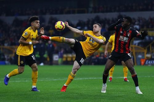 Wolves were 2-0 winners against Bournemouth in their most recent fixture
