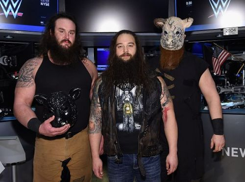 Braun Strowman was part of the Wyatt Family.
