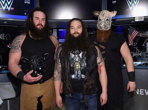 Braun Strowman was part of the Wyatt Family.