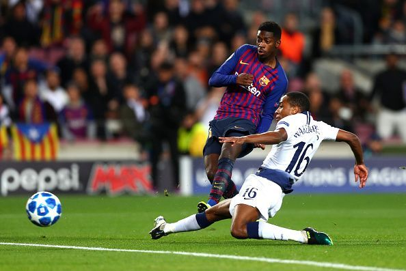 Dembele broke the deadlock early on and once again proved his quality amid those attitude issues...