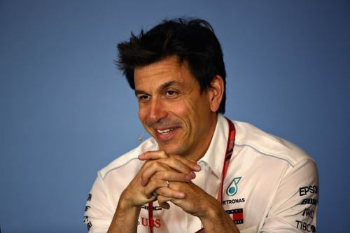Toto Wolff has shown admiration for Kimi, it seems!