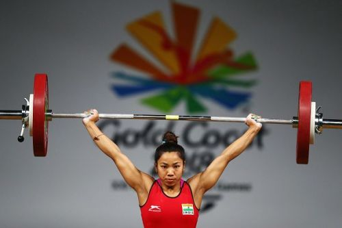 Mirabai Chanu bagged the first gold medal for India in CWG'18