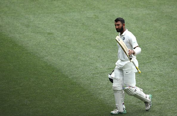 Pujara was named the man of the match at Adelaide