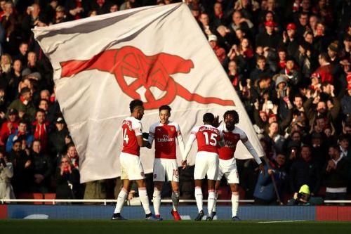 Arsenal will be taking on Brighton at the Amex stadium