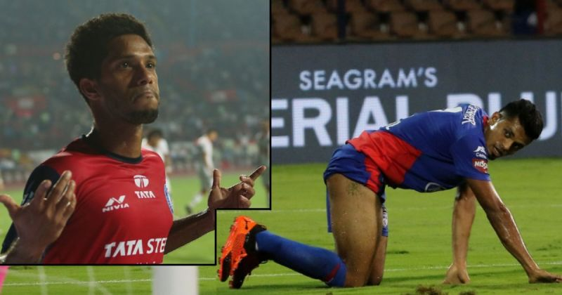 Michael Soosairaj (left) and Rahul Bheke were left out despite their good performances in the ISL