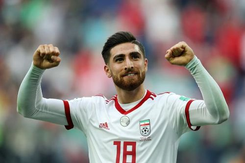 Alireza Jahanbakhsh, who plays for Premier League team Brighton & Hove Albion