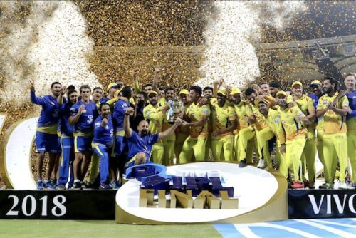 CSK are currently the defending champions