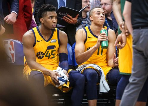 Donovan Mitchell had 15 points while Dante Exum impressed with a double-double