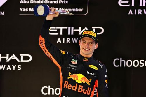 At the F1 Grand Prix of Abu Dhabi, Max was on the podium again