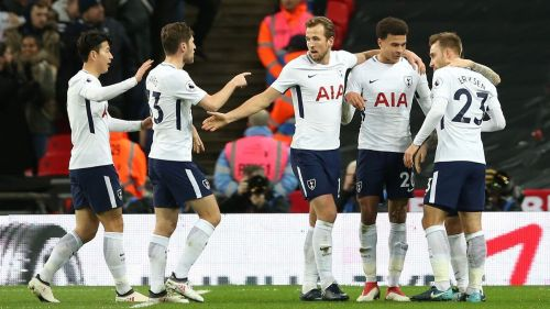 Spurs and the Foxes were involved in a 9-goal thriller