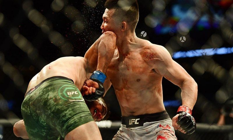 The UFC has seen some wild and wonderful knockouts in 2018, including this classic from Yair Rodriguez