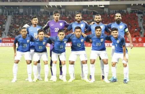 India's Playing XI for the friendly against China in October (Image: AIFF Media)