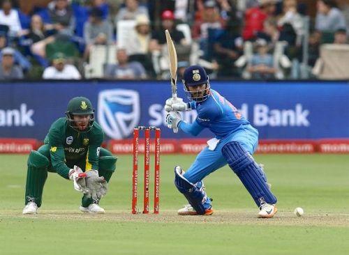 Shreyas Iyer scored a crucial fifty