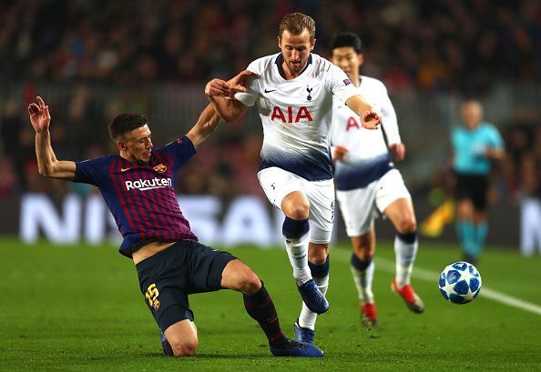 Kane was forced into regular duels with Lenglet and despite a frustrating display, did well to create chances