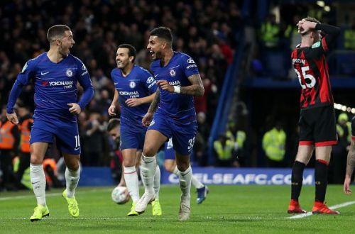 Chelsea progress to the semi-final through Eden Hazard's strike