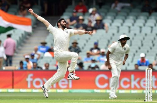 Jasprit Bumrah made a handy comeback after a poor first spell