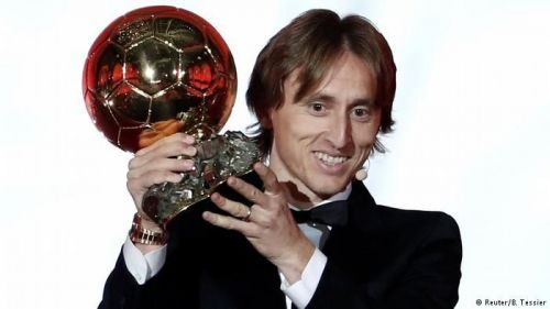 Real Madrid and Croatian superstar Luka Modric has been crowned the Ballon d'Or winner for 2018