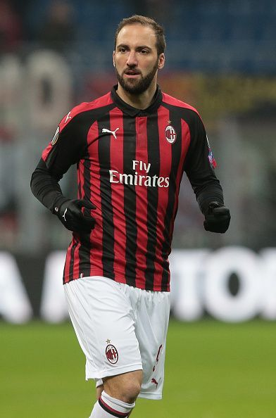 Gonzalo Higuain will once again sit out due to suspension