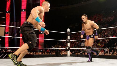 Cena during his