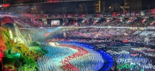The Asian Games was a resounding success and had everyone hooked onto it