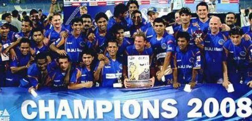 Rajasthan Royals are the inaugural IPL champions.