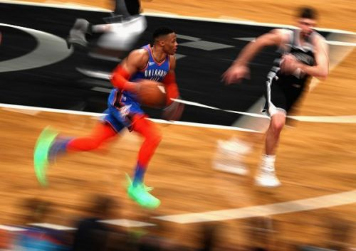Russell Westbrook has been averaging a triple-double this season
