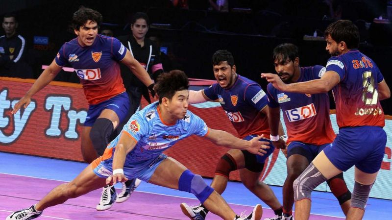 Jang Kun-Lee and Maninder Singh have to bring their A-game against a strong Dabang Delhi