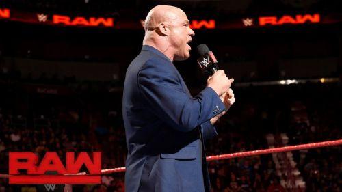 Will Kurt Angle return and take Braun Strowman's place at TLC?
