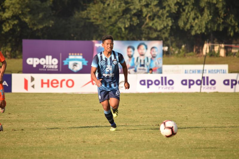 Thoiba Singh made his debut for Minerva Punjab in the I-League at the age of 15 against Indian Arrows