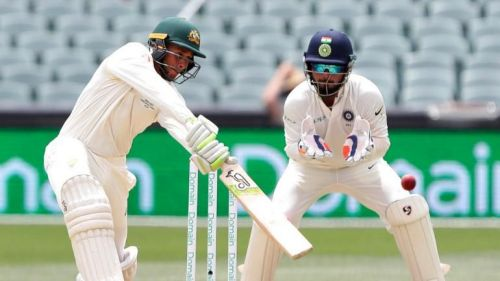 Rishabh Pant was at his very best behind the stumps during Australia's first innings