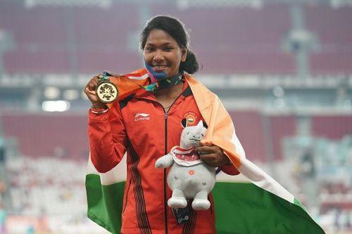 Swapna Barman bagged the gold medal at Asian Games 2018