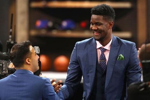 Ayton was the number 1 pick of the draft