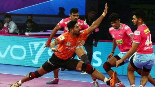 Rohit Baliyan was the top raider for the U Mumba side