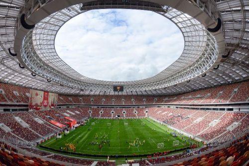 Luzhniki Stadium at Moscow