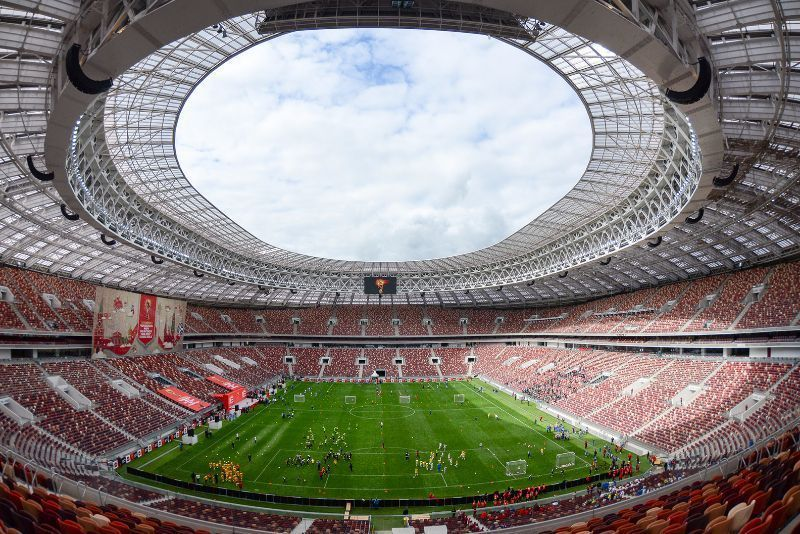 Luzhniki Stadium at Moscow