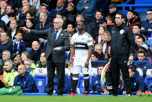 Ranieri during Fulham's 1-0 defeat to Chelsea at the Stamford Bridge