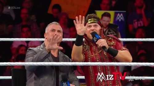 Shane McMahon & The Miz - the best tag team champions in the world?