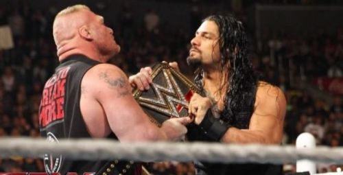 roman vs brock lesnar